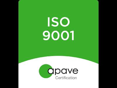 40-30 est certifiée ISO 9001