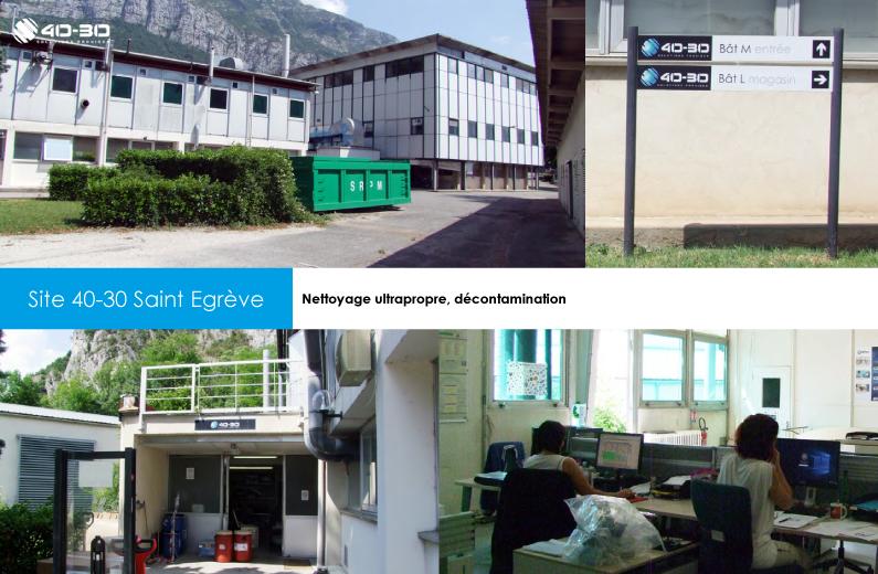 Servicios de limpieza de piezas , tratamiento de superficies, reacondicionamiento y descontaminación.