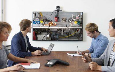 40-30 apporte une assistance technique à distance à ses clients grâce aux outils de visioconférence qui équipent tous ses sites